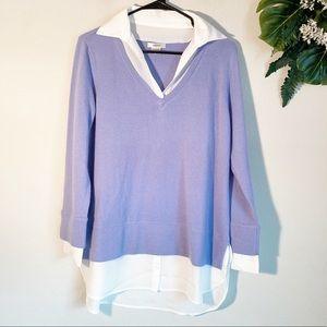Tyler Boe 100% Cashmere sweater shirt size s